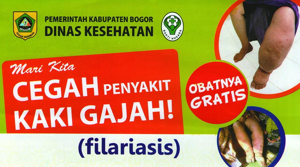 Belkaga, Filariasis, Kaki Gajah, Bogor, Design, Jonggol