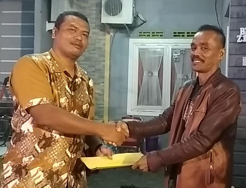 sertijab RW 09 Citra Indah City
