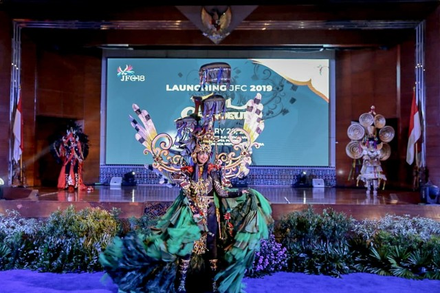 Launching Jember Fashion Carnaval (JFC) 2019.