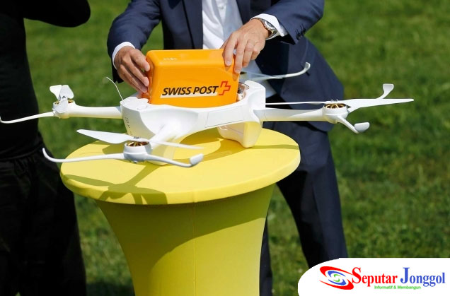 Teknologi Canggih Gantikan Jasa Kurir di Swiss