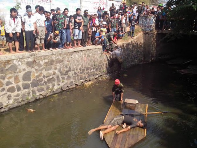 Mayat tak dikenal mengapung di Situ Tunggilis Cileungsi, Bogor