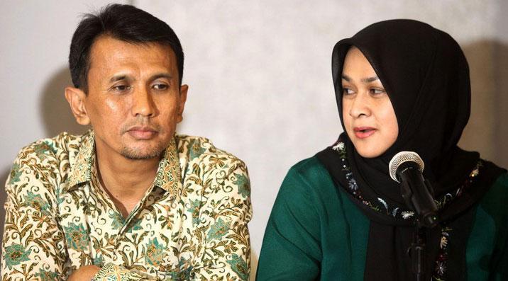 Gubernur Sumut dan Istri Muda Kompak Buka Kartu OC Kaligis