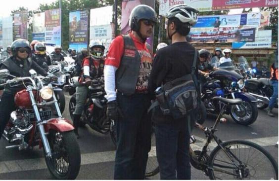 Aksi Hadang Moge oleh Elanto Wijayanto di Yogyakarta Bikin Heboh Masyarakat