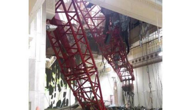 Crane Jatuh di Mekah, Ini Korban Meninggal Dunia dan Luka-Luka