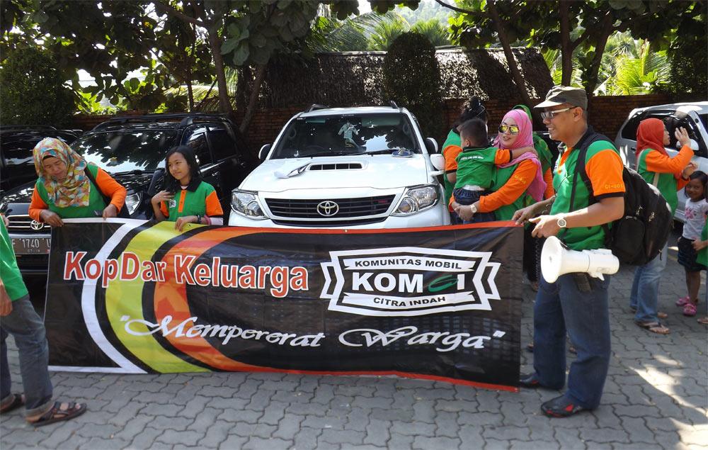 KOMCI Adakan Mini Touring ke Kampung Turis