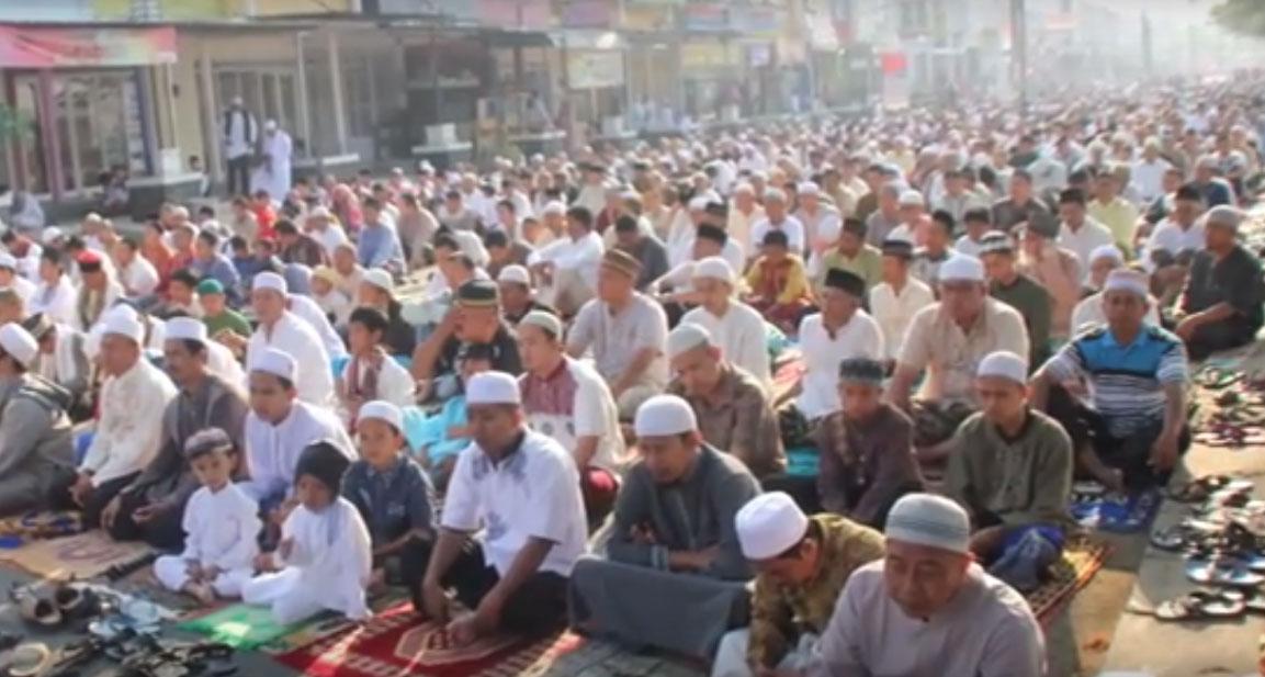 Shalat Idul Adha 1436 di Citra Indah