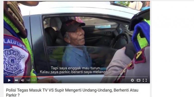 Ini Penjelasan Polisi Soal Argumen Sopir Taksi soal Berhenti dan Parkir
