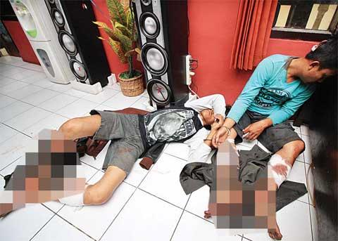 Komplotan Begal Di-Dor Polisi di Gunung Putri Bogor