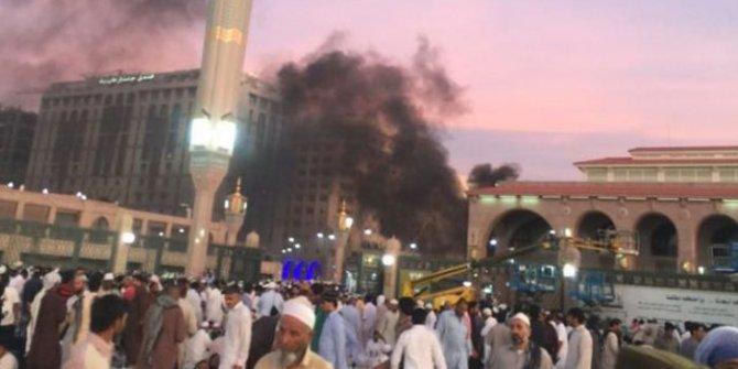 Innalillahi, Jelang Lebaran, Bom Meledak di Dekat Masjid Nabawi