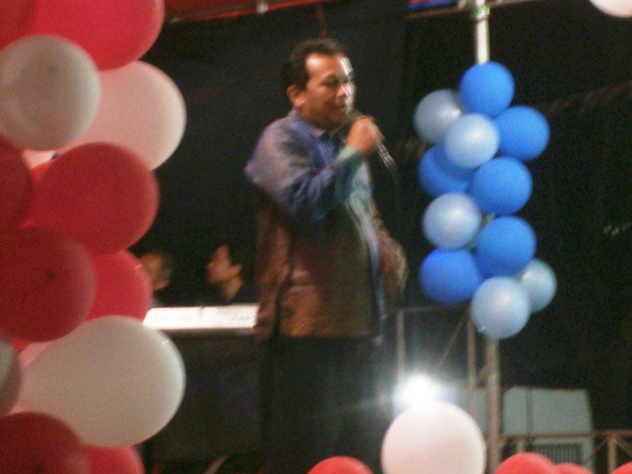 Agus Riyadi - Ketua RW 10 Citra Indah City. (Foto: Ovan)