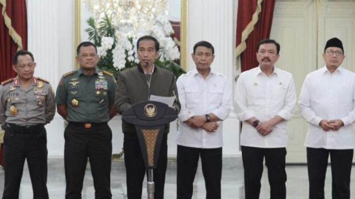 Presiden Jokowi Lakukan Jumpa Pers Usai Demo 4 November