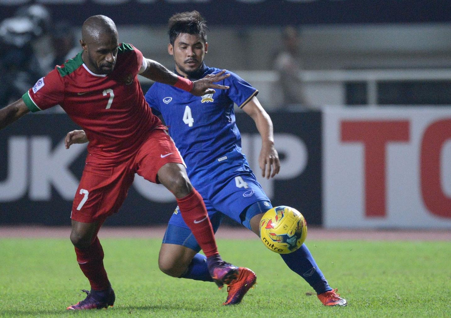 Kemenangan 2-1 untuk Timnas Indonesia vs Thailand di Piala AFF 2016