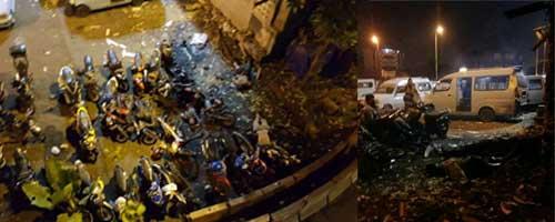Bom di Kampung Melayu Tewaskan 5 Orang