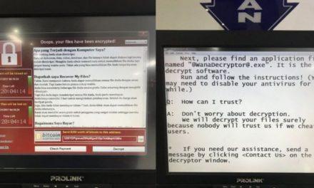 Ini Jumlah Korban Virus Ransomware WannaCry