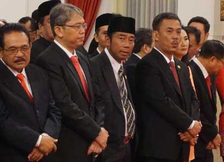 Pelantikan Djarot sebagai Gubernur DKI Disaksikan Megawati hingga Lulung