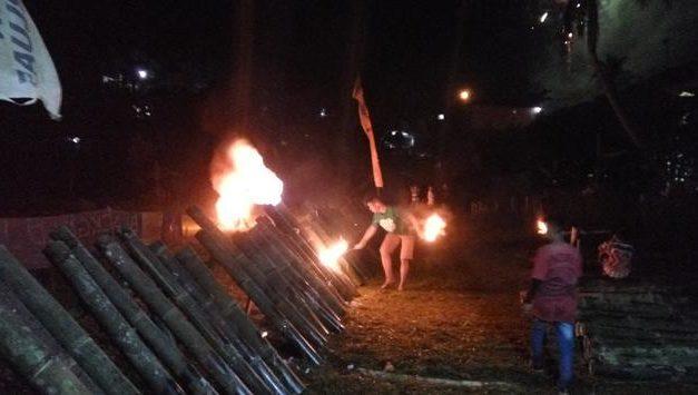 Perang Meriam Bambu di Bogor
