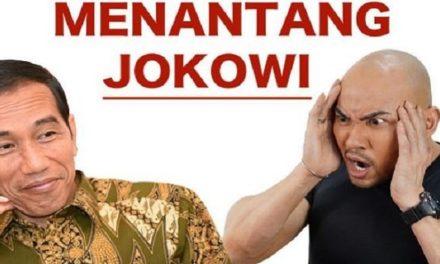 Deddy Corbuzier Menantang Presiden Jokowi