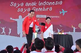 Presiden Jokowi Main Sulap