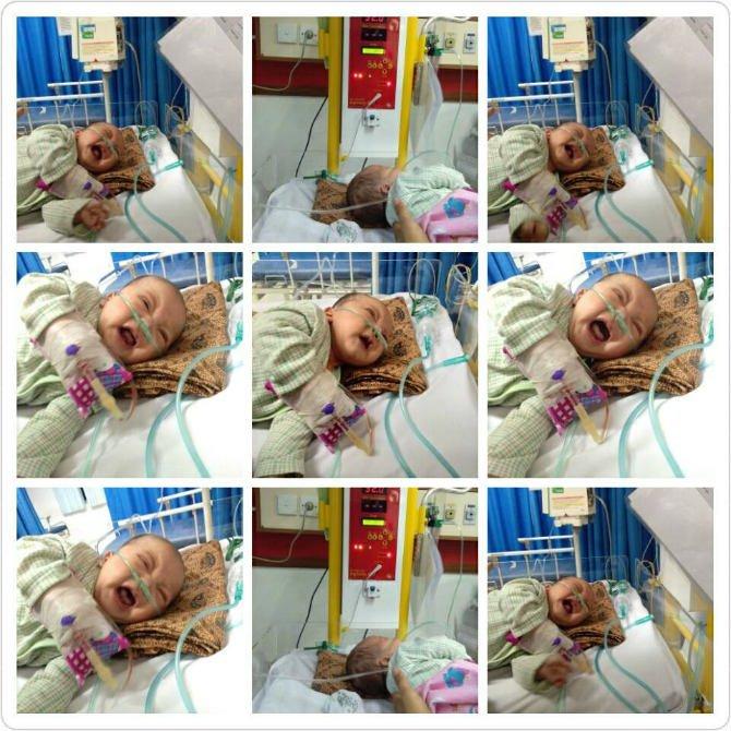 bayi hafizh meninggal dunia karena asaap rokok