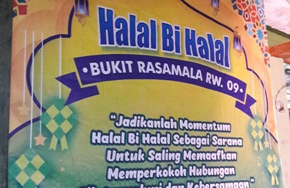 Halal Bi Halal dan Rembug Warga Bukit Rasamala CIC Semakin Memperkokoh Silaturahmi dan Kebersamaan