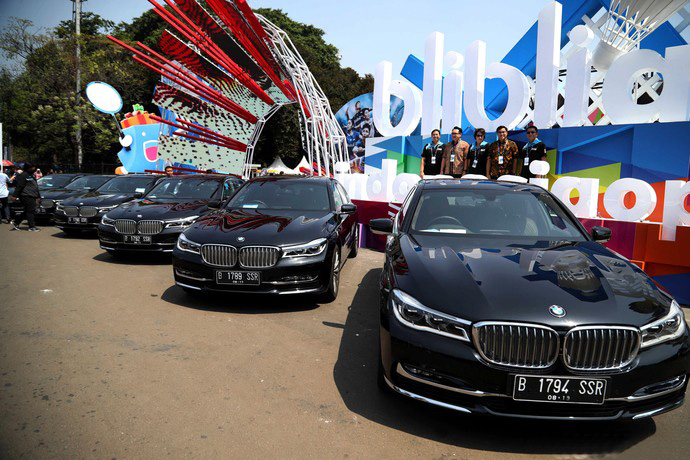 bmw 740Li Officially Mobility Partner Blibli Indonesia Open 2019