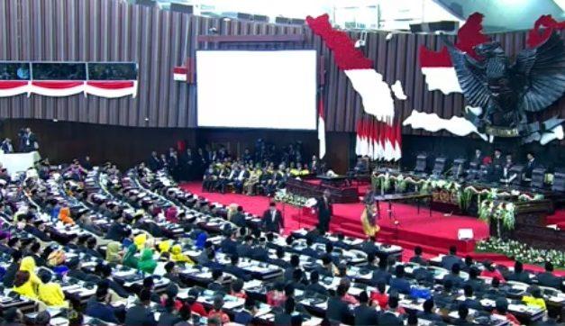 575 Anggota DPR-RI Periode 2019-2024 Akhirnya Dilantik