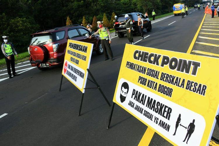 Tak Efektif, Selama PSBB Periode Pertama Masih Banyak Pelanggaran di Kota Bogor