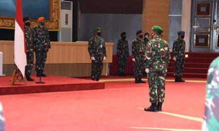 Panglima TNI Naikkan Pangkat 25 Perwira Tinggi AD, AL dan AU