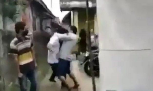 Pemuda Jonggol Ngamuk Tolak Pakai Masker dan Pukul Warga, Akhirnya Ditangkap Polisi