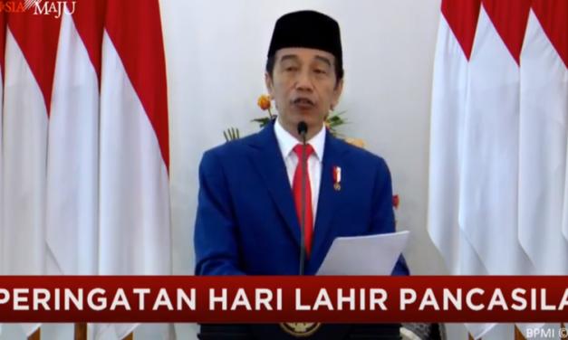 Hari Lahir Pancasila, Jokowi Ajak Elemen Bangsa Perkokoh Persatuan