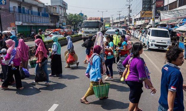 Pasar Cileungsi Bogor Ditutup Setelah Jadi Klaster Baru Covid-19