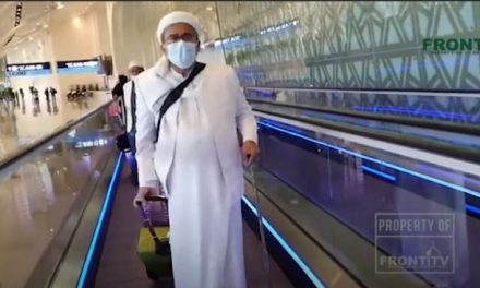 Pulangnya Habib Rizieq ke Indonesia