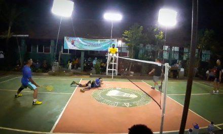 Derby Citra Indah City: PB RW 09 Ungguli PB Kadus V di 8 Besar Turnamen Bulu Tangkis Kades Cup I Desa singajaya