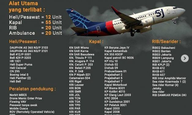 [UPDATE] Pencarian Korban Pesawat Sriwijaya SJ-182