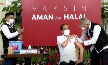 Presiden Jokowi Jadi Orang yang Pertama Disuntik Vaksin Covid-19 Pagi Ini