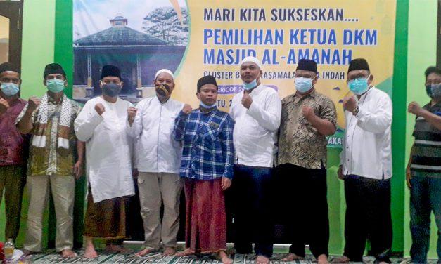 Jamhari Terpilih sebagai Ketua DKM Al-Amanah Bukit Rasamala Citra Indah City Periode 2021-2024