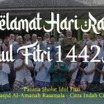 Masjid Al-Amanah Rasamala Selenggarakan Sholat Ied Berjamaah