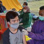 Vaksinasi Covid-19 Massal di FM Citra Indah City
