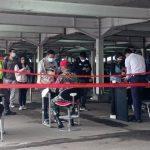 PPKM Berlanjut, Stasiun Bogor Lengang